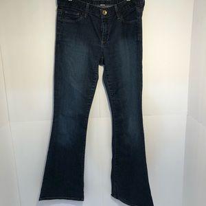Banana republic belly bottom jeans